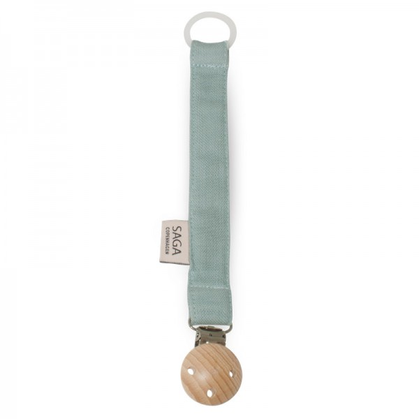 "Schnullerkette ""Pala"" Dusty Green"