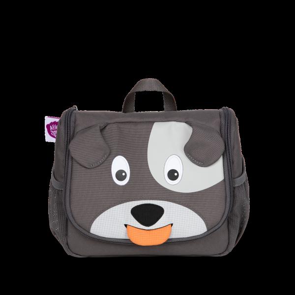 Kulturtasche für Kinder 'Hugo Hund'