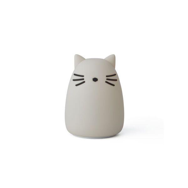 Nachtlicht 'Winston' - Cat dumbo grey