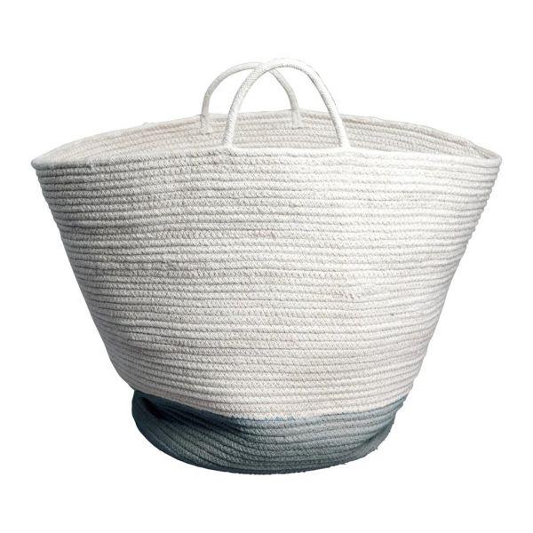 Aufbewahrungskorb Large 'Rope Basket - Blue Spruce'