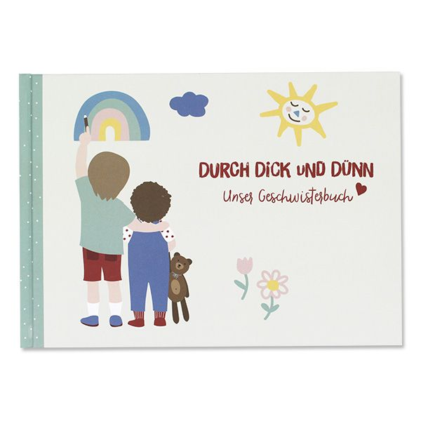 "Buch Geschwisterbuch ""Durch Dick und Dünn"""