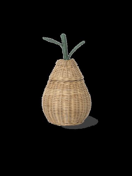 Aufbewahrungskorb 'Pear Braided Small'