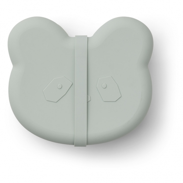 """Silikon Lunch-Box """"Vita Panda Dusty mint"""""""