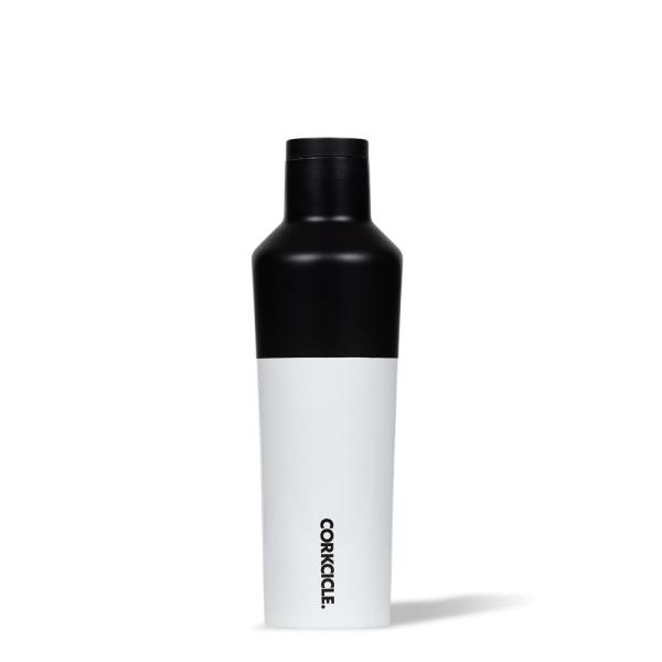 """Thermosflasche """"Canteen"""" 0,47L - Modern Block Black"""