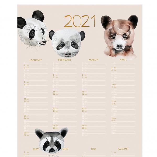 "Kalenderposter ""Bears"" 2021"