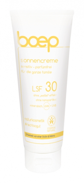 Sonnencreme sensitive - LSF 30 (50ml)