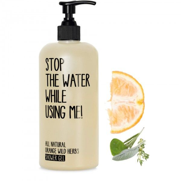 Orange Wild Herbs Shower Gel 200ml