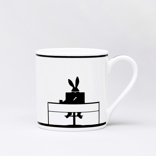 Trinktasse 'Working Rabbit'