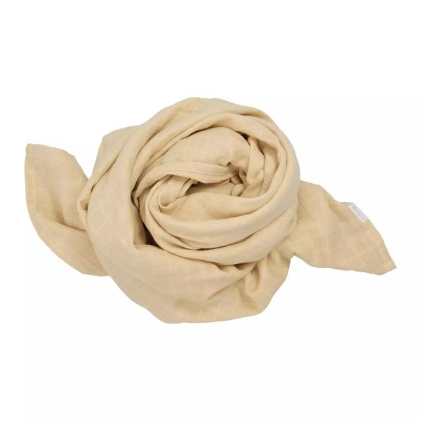 """Großes Mulltuch / Swaddle """"Pale Yellow"""""""