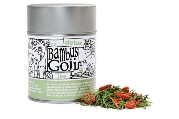 Entspannungstee 'Bambus Goji – Detox''Kräuter Frucht Mischung 60g
