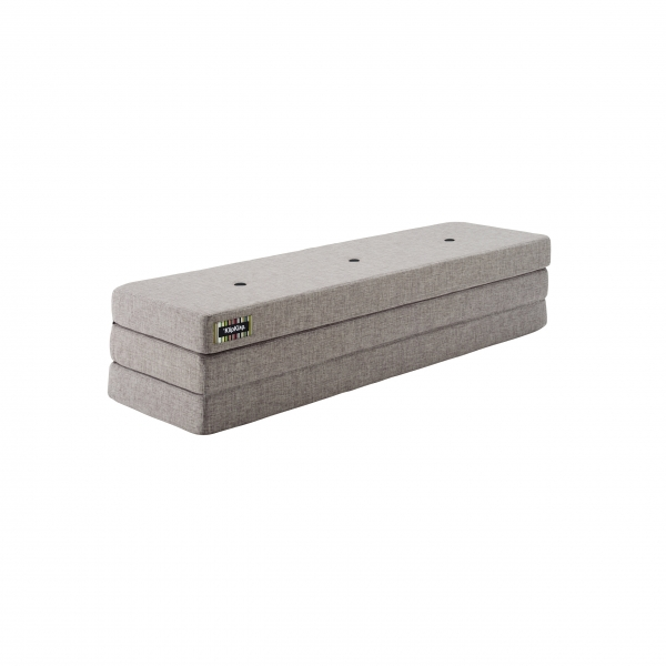 Klapp-Matratze 'KK 3 Fold' (180 cm) - Multi Grey / Grey