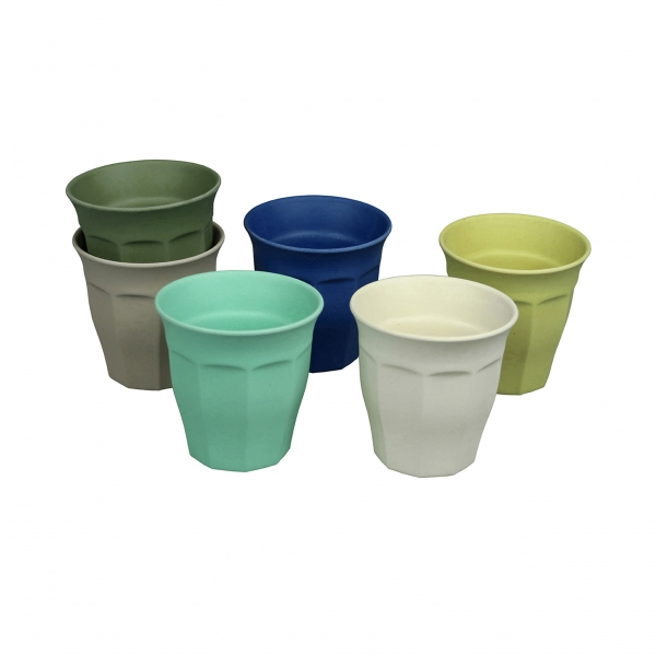Bambus Becherset 'Cupful of Color' Large - Breeze Colors