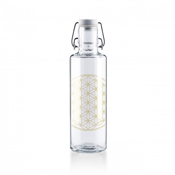 Trinkflasche 0,6l - Flower of Life