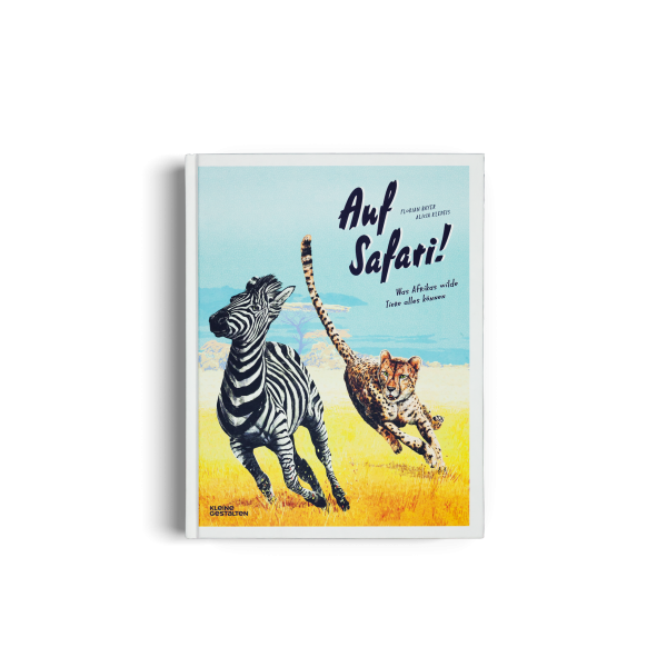 Kinderbuch 'Auf Safari'