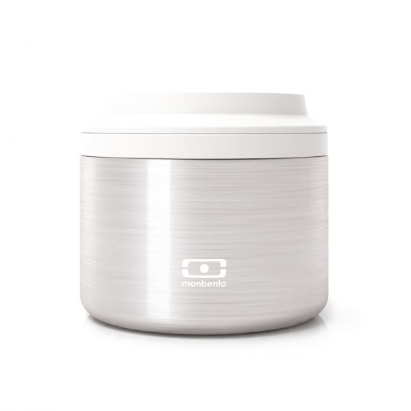 Thermo-Lunchbox 'MB Element Silver'