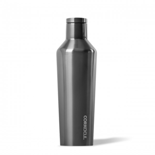 Thermosflasche 'Canteen' 0,47L - Metallic Gunmetal