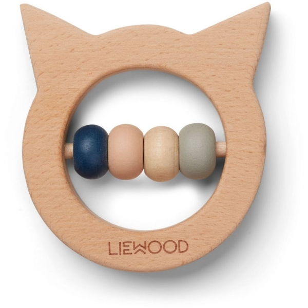"""Teether/Zahnungshilfe aus Holz """"Ivalu - Cat natural"""""""