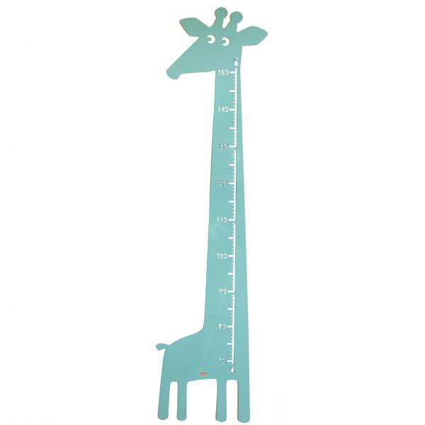 "Messlatte ""Giraffe"" - pastel grün-blau"
