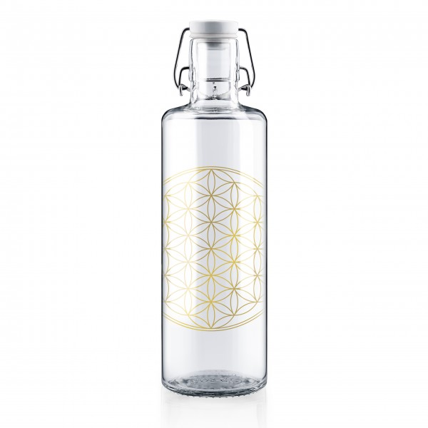 Trinkflasche 1l - Flower of Life