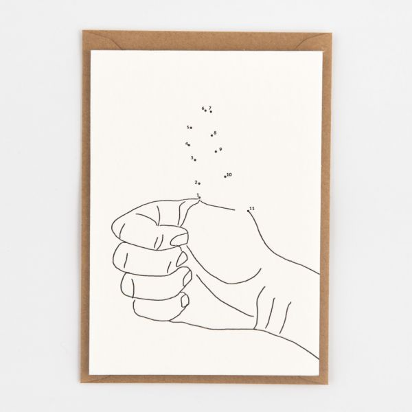 "Grußkarte ""Thumbs Up"""
