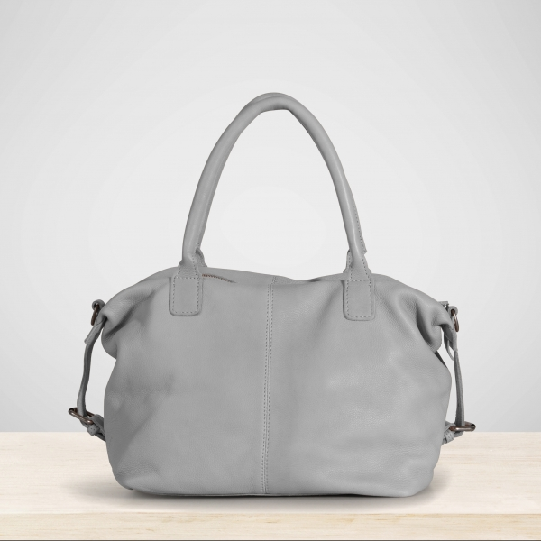 """Handtasche """"Life Is Simple"""" Mouse Grey"""