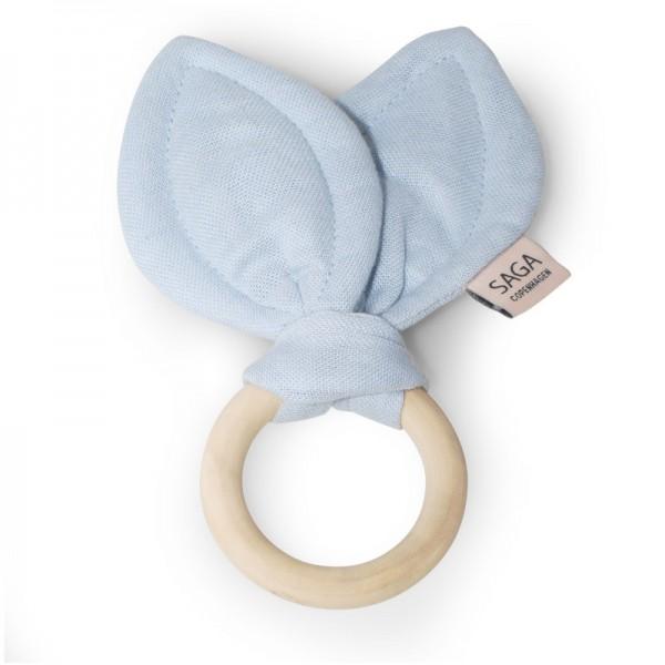Beißring / Teething Ring 'Groa' - Ice Blue