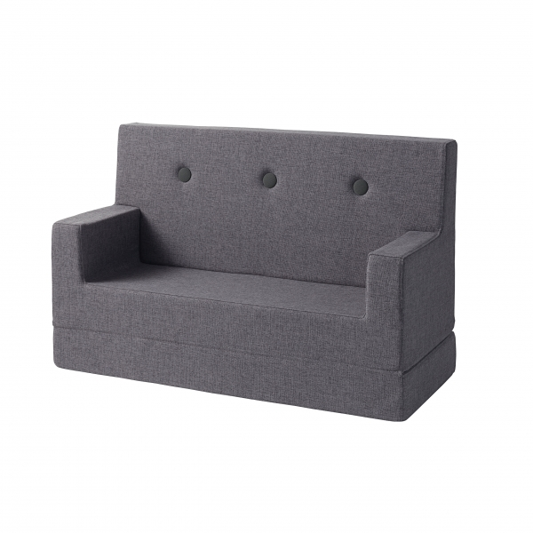 Kindersofa 'KK Kids Sofa' - Blue Grey / Grey