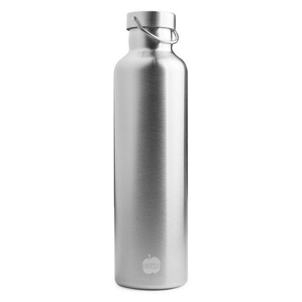 Edelstahl Thermosflasche 1l