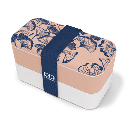 Bentobox / Lunchbox 'Original graphic Ginko