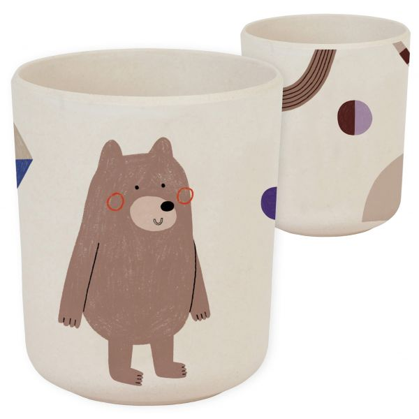 "Bambus Kinder-Becher - ""Bear"""