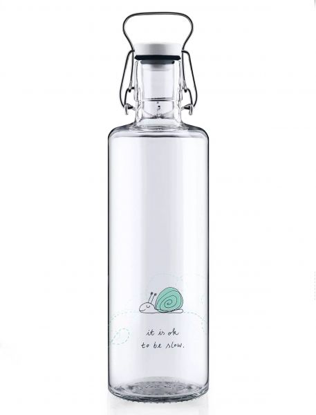 Trinkflasche 1l - Ok to be slow