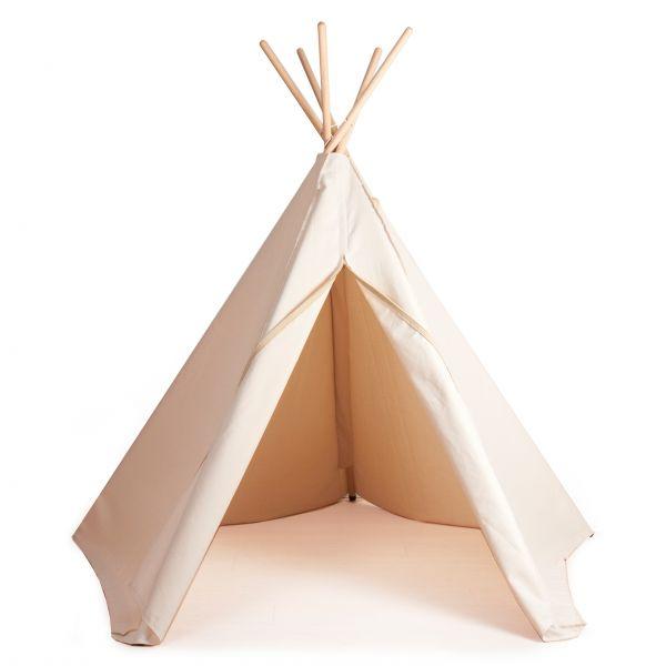 Indianerzelt 'Hippie Tipi' - creme