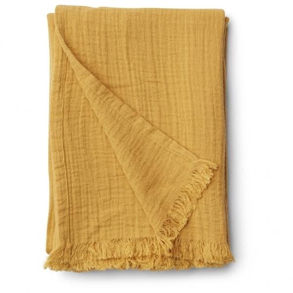 Musselin Decke 'Magda' Yellow Mellow