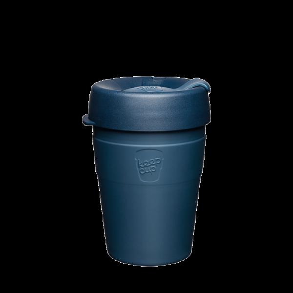 Coffee-to-go Becher Dunkelblau 'Thermal 12OZ (340ml) - Spruce'
