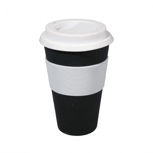 Coffee To-Go Becher 'Cruising Travel' - Carbon Black