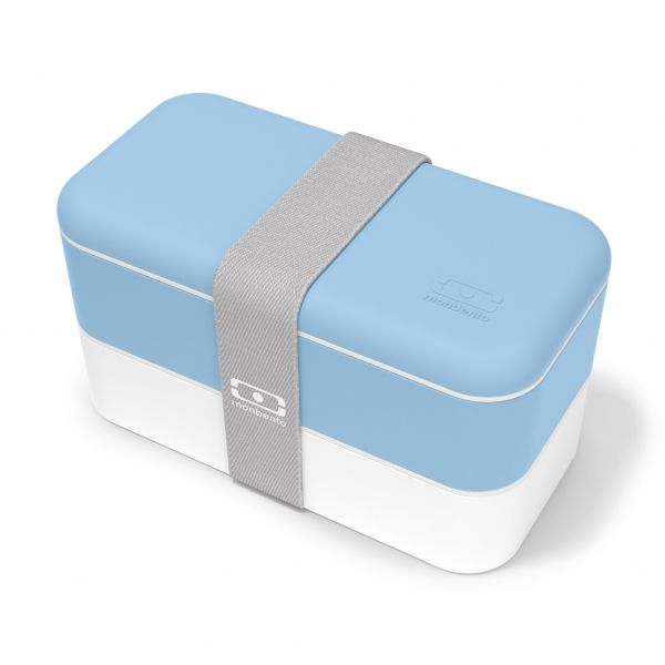Bentobox / Lunchbox 'Original blue Cristal'