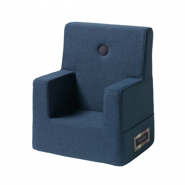 "Kindersessel ""KK Kids Chair"" - Dark Blue / Black"