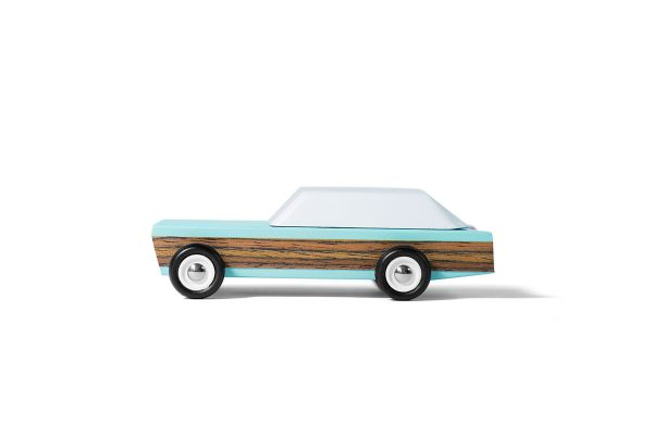 Holzauto 'Junior Size Woodie - blue'