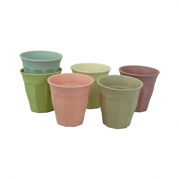 Bambus Becherset 'Cupful of Color' Large - Dawn Colors