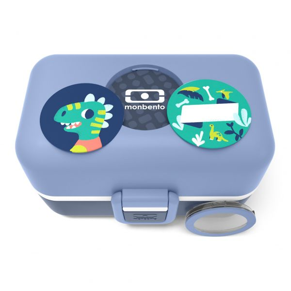 Kinder Lunchbox / Bentobox 'Tresor blue Infinity'