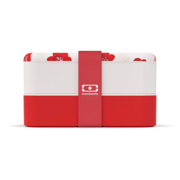 "Bentobox / Lunchbox ""MB Original graphic Poppy"" - Valentine""s day edition"