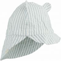 "Sonnenhut ""Gorm"" Y/D stripe: Sea Blue / White"
