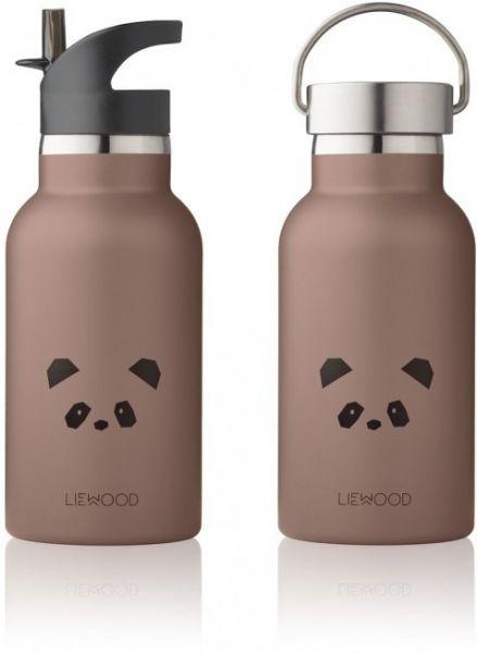Kinder-Trinkflasche 'Anker - Panda dark rose' – 350ml