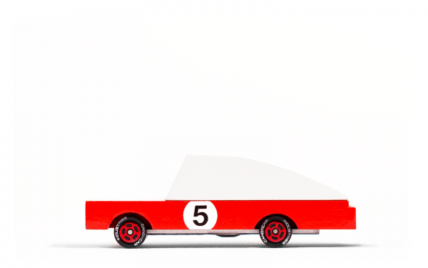 Candycar Holzauto 'The Red Racer'