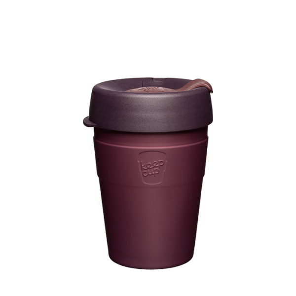 Coffee-to-go Becher Bordeaux 'Thermal 12OZ (340ml) - Alder'
