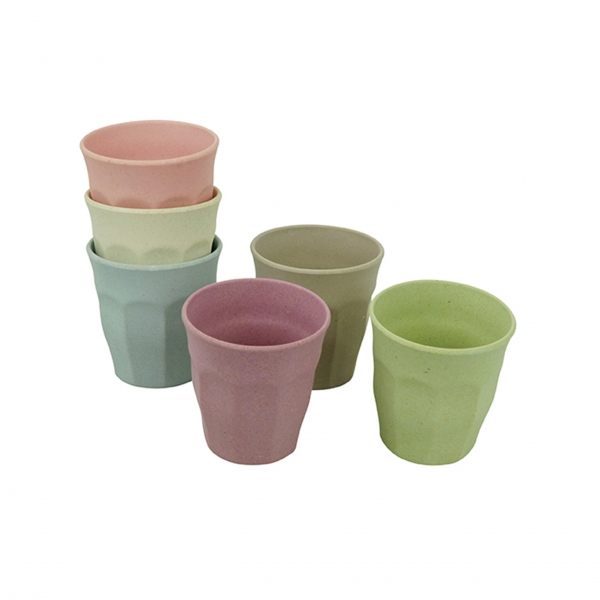 Bambus Becherset 'Cupful of Colour' Medium - Dawn Colors