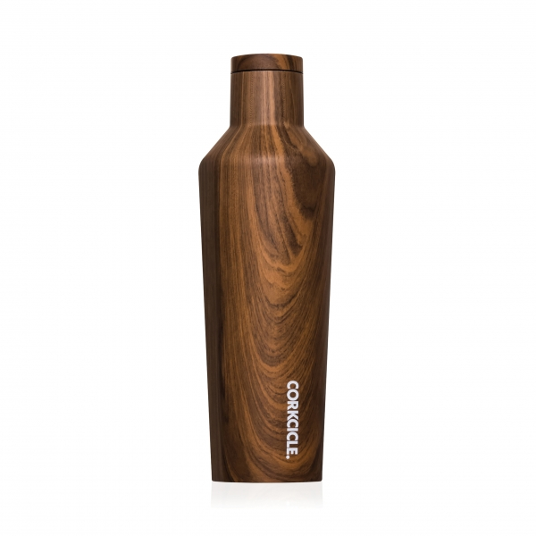 Thermosflasche 'Canteen' 0,47L - Walnut Wood