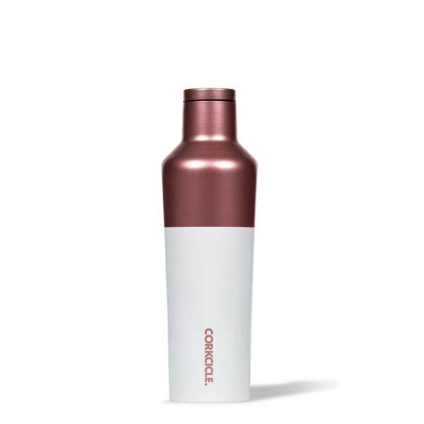 Thermosflasche 'Canteen' 0,47L - Modern Block Rose
