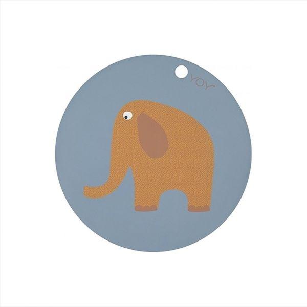 Tischset 'Elefant' aus Silikon