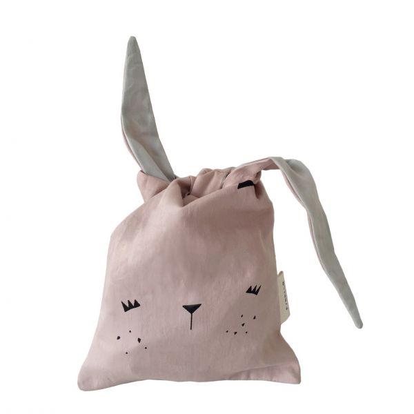 "Lunchbag / Spielzeugsack ""Bunny"" - Mauve"
